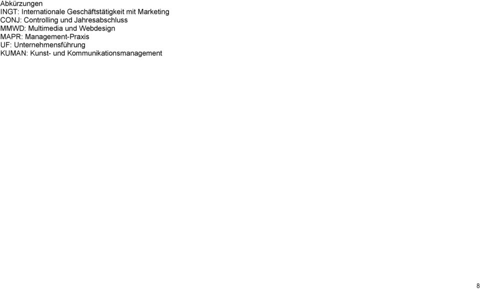 Multimedia und Webdesign MAPR: Management-Praxis :