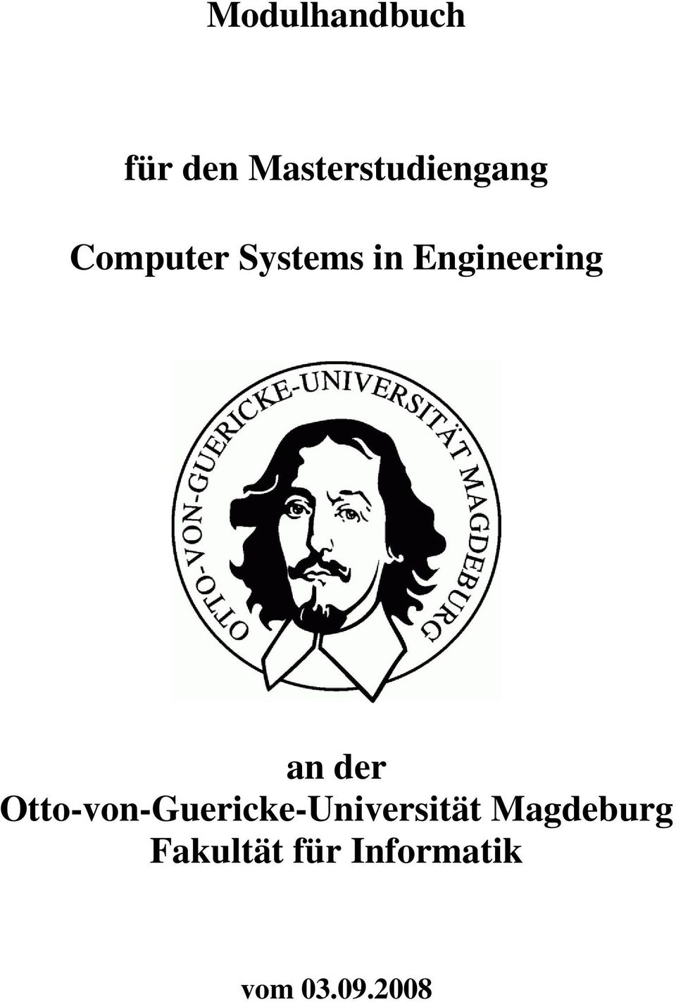 Systems in Engineering an der