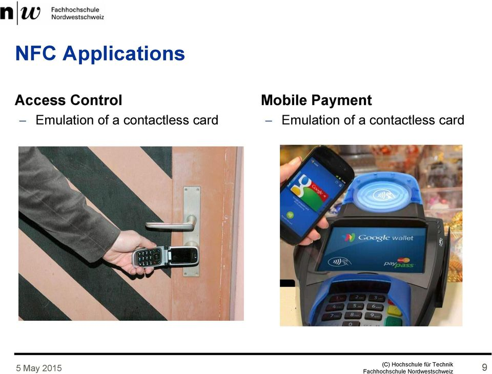 contactless card Mobile