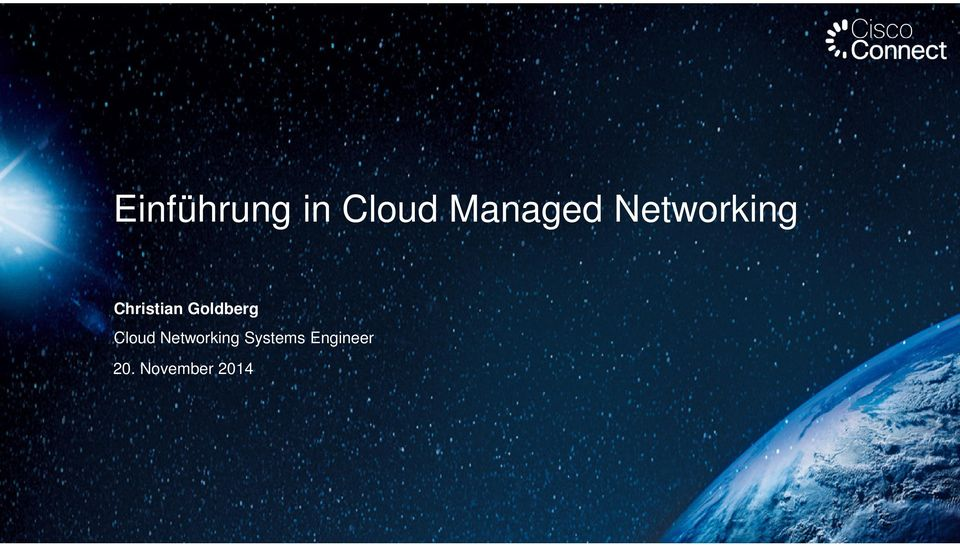 Goldberg Cloud Networking