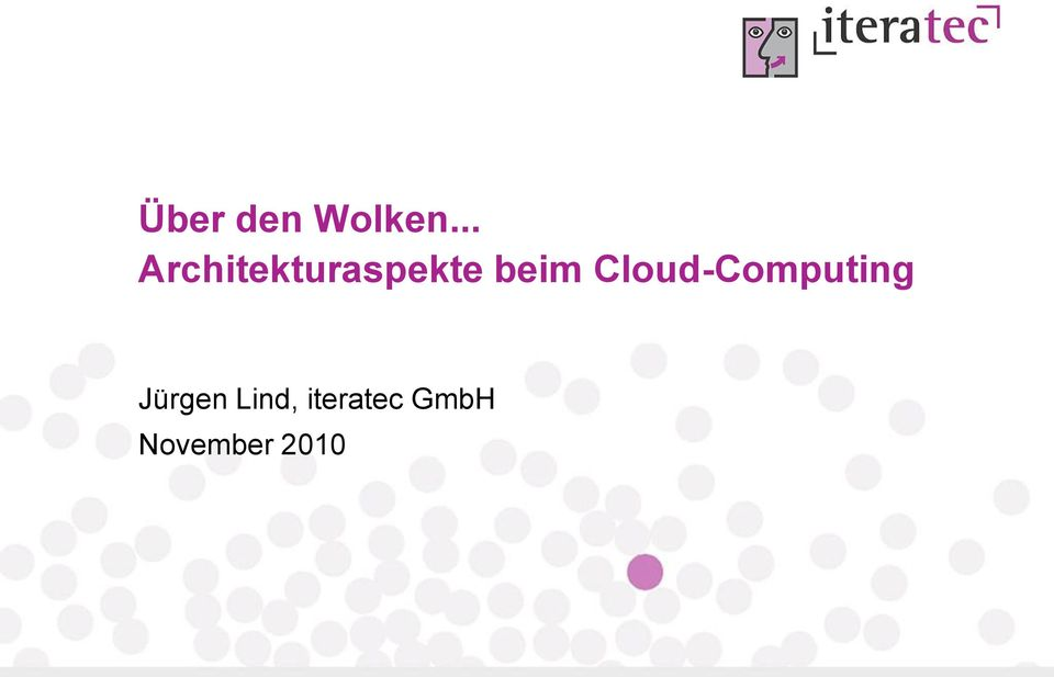 beim Cloud-Computing