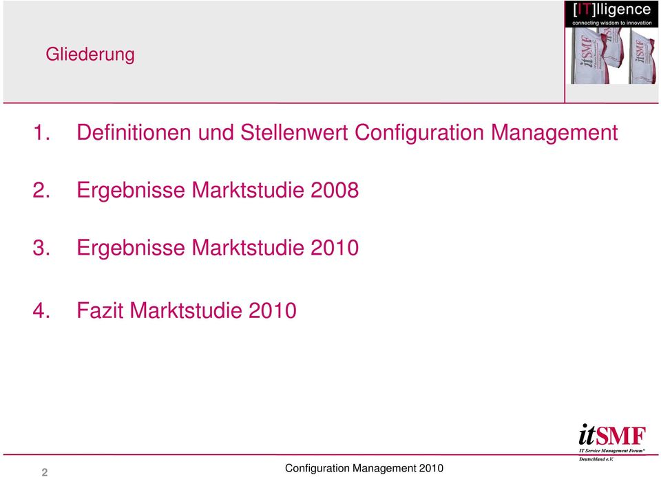 Configuration Management 2.