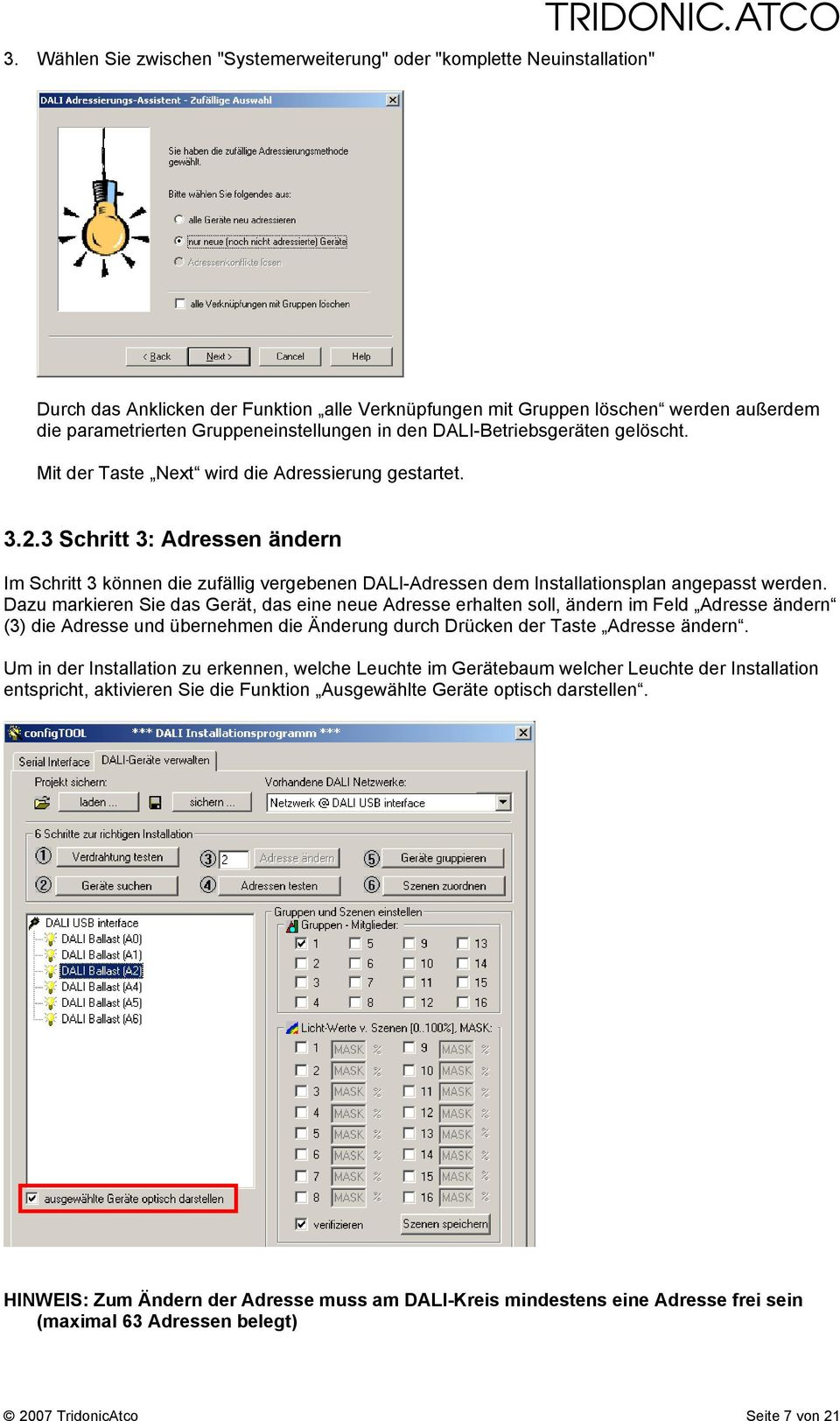 luxcontrol Lighting Control System TECHNICAL INFORMATION - PDF