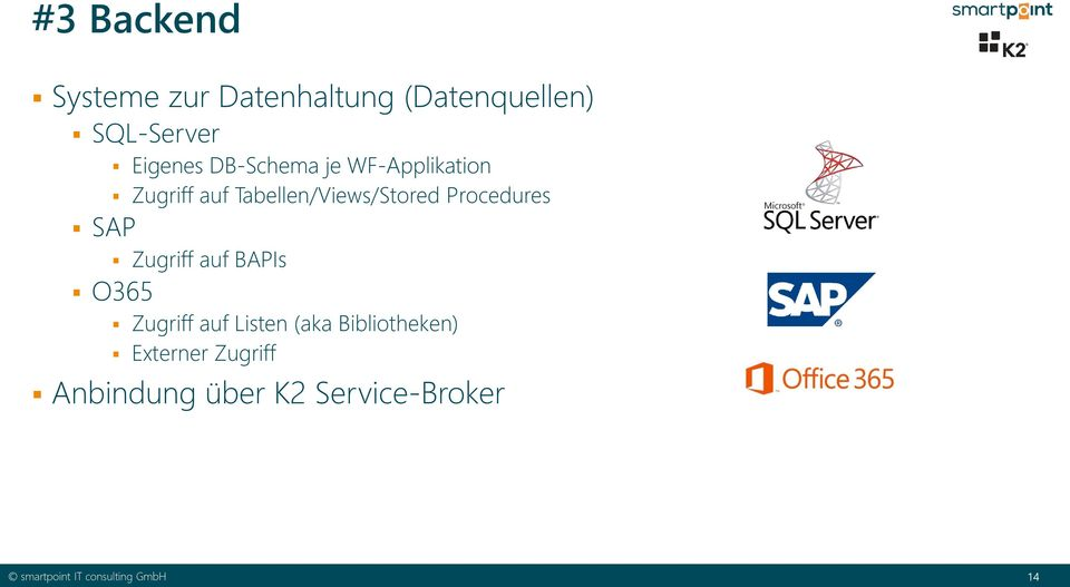 Tabellen/Views/Stored Procedures SAP Zugriff auf BAPIs O365