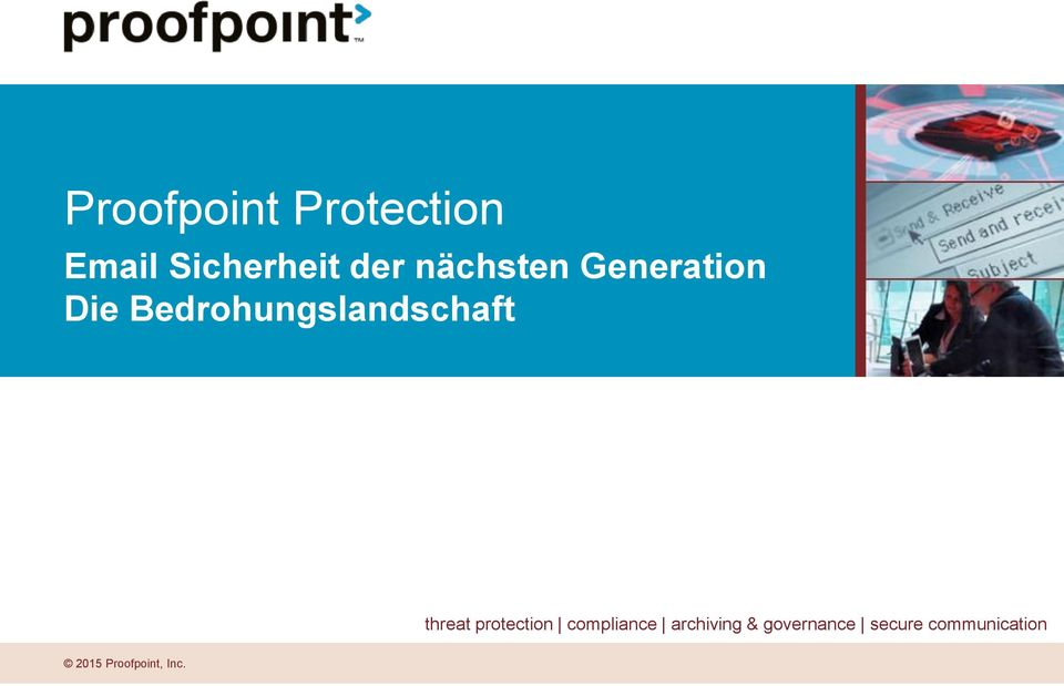 Bedrohungslandschaft threat protection