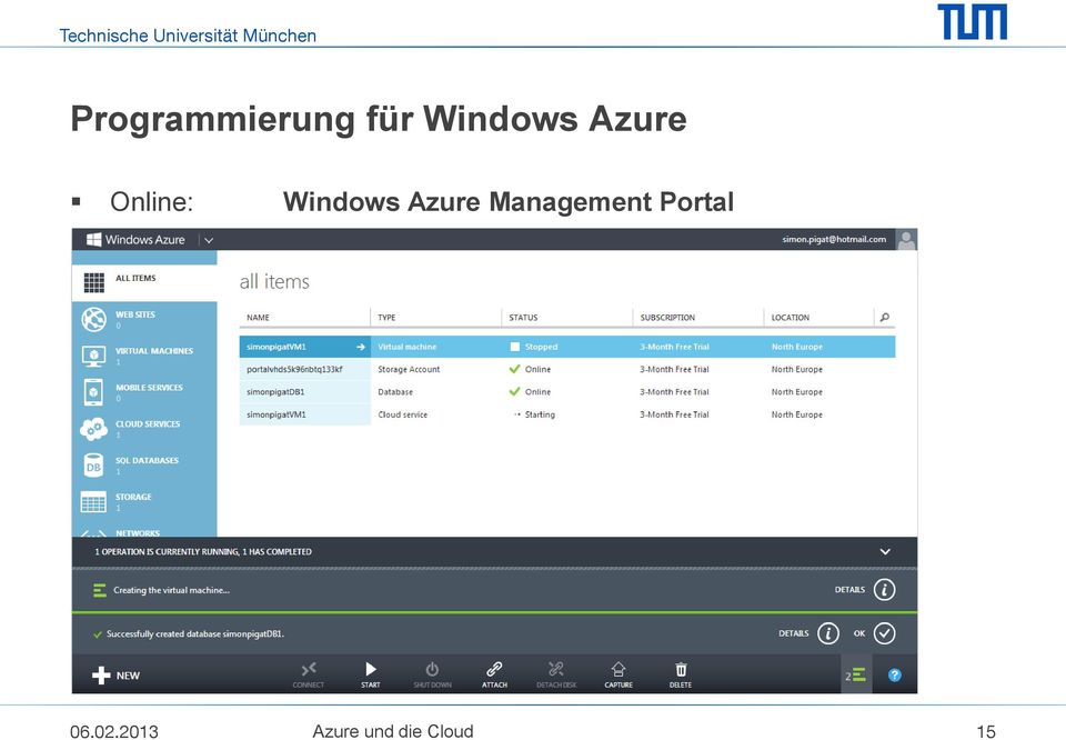 Azure Management Portal 06.