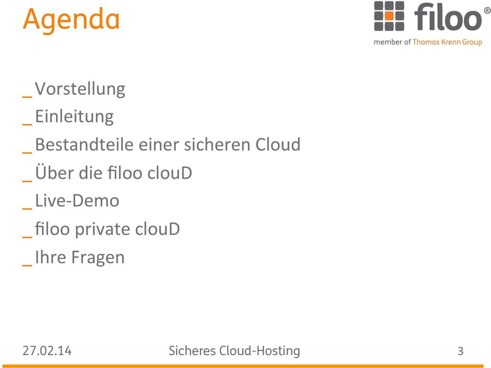 die filoo cloud _ Live- Demo _ filoo
