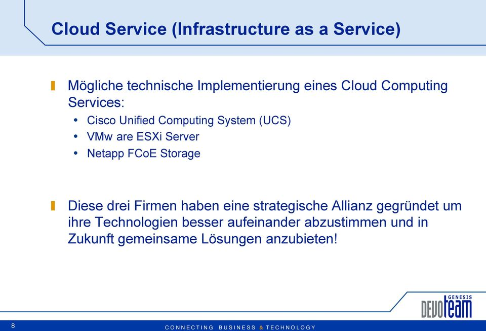 Computing System (UCS) VMw are ESXi Server Netapp FCoE Storage!