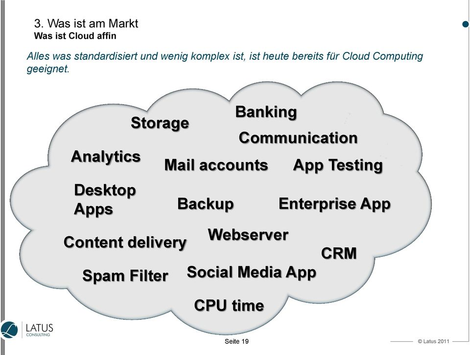 Analytics Desktop Apps Storage Content delivery Spam Filter Mail accounts