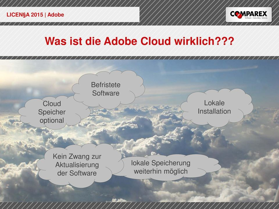 Software Lokale Installation Kein Zwang zur