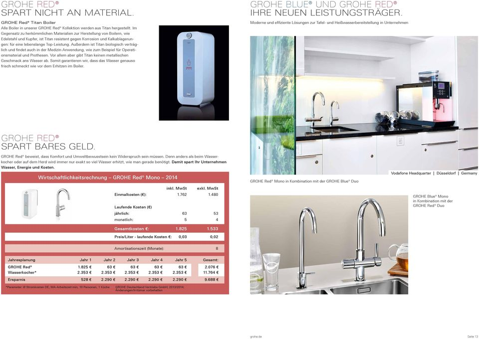 grohe blue und grohe red wassersysteme f r officebereiche grohe de i grohe at i grohe ch pdf. Black Bedroom Furniture Sets. Home Design Ideas