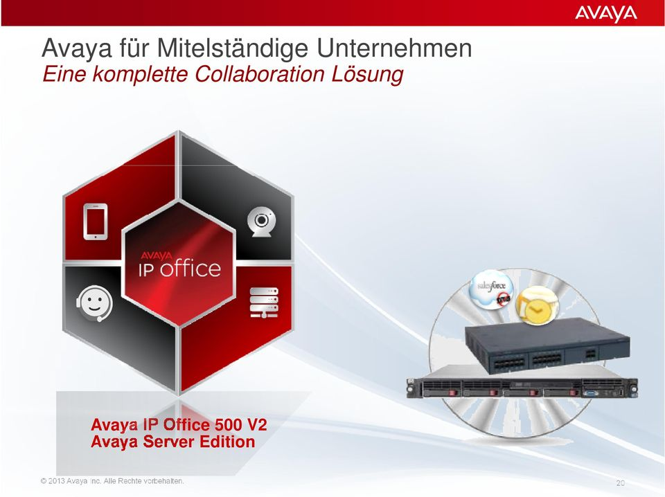 Avaya IP Office 500 V2 Avaya Server