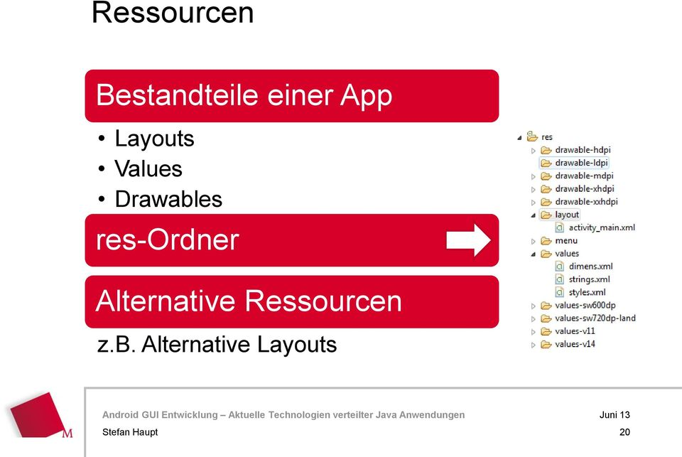 res-ordner Alternative Ressourcen