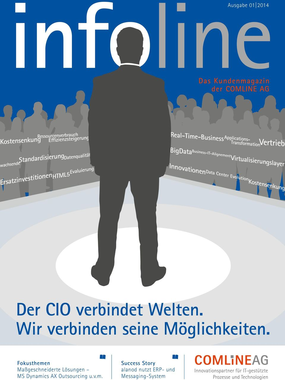 Virtualisierungslayer Innovationen Business-IT-Alignement Data Center Evolution Kostensenkung Der CIO verbindet Welten.
