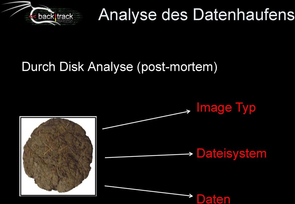 Disk Analyse