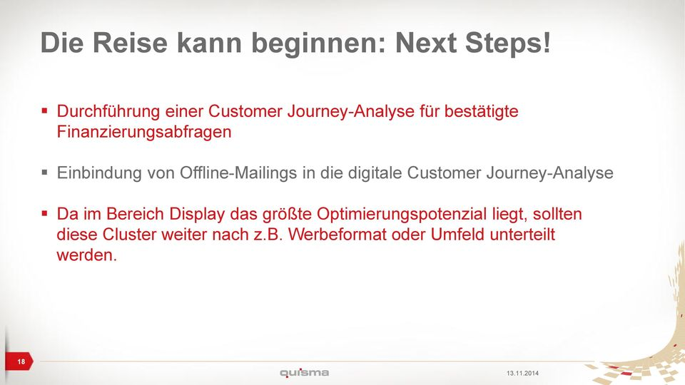 Einbindung von Offline-Mailings in die digitale Customer Journey-Analyse Da im