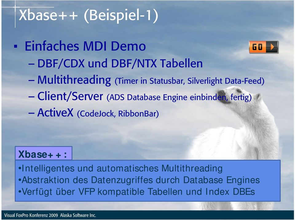 ActiveX (CodeJock, RibbonBar) Xbase++: Intelligentes und automatisches Multithreading