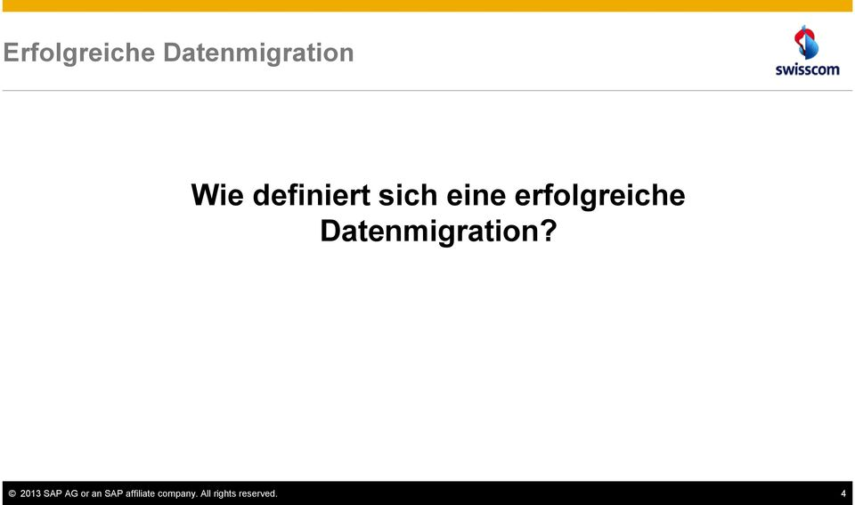 Datenmigration?