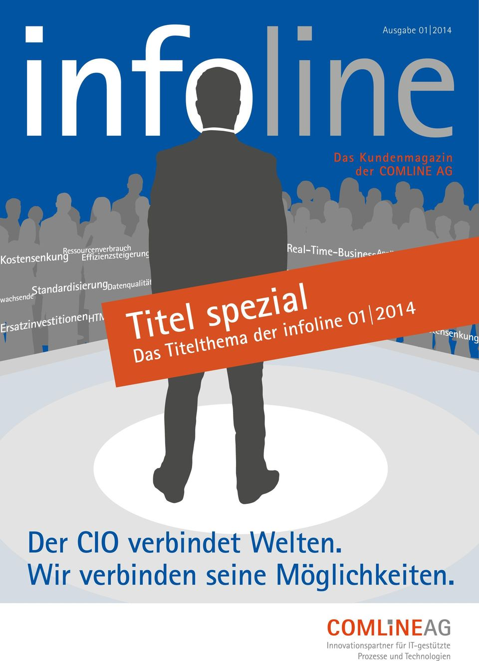 Titel spezial Big Data Virtualisierungslayer Innovationen Business-IT-Alignement Data Center Evolution