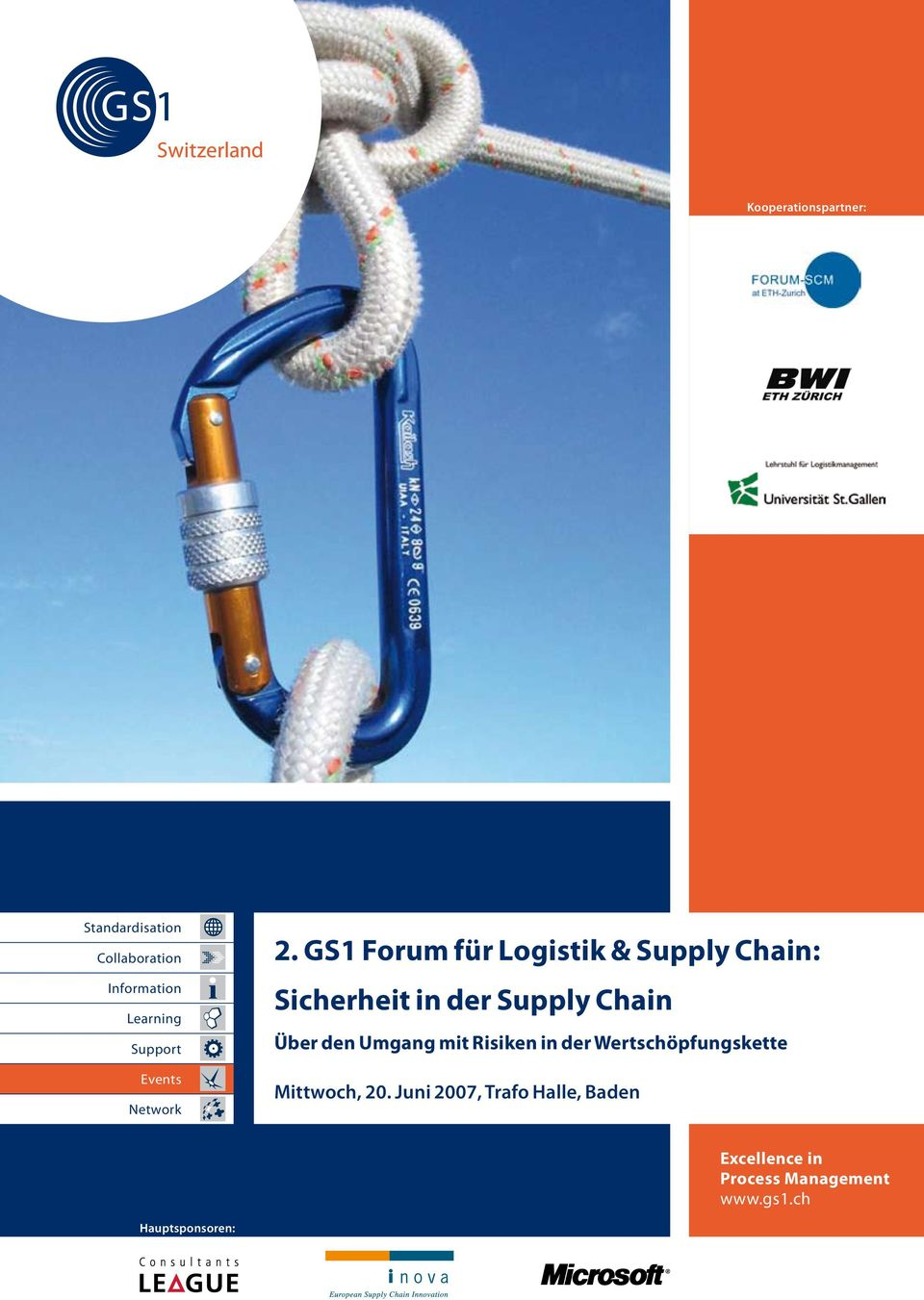 GS1 Forum für Logistik & Supply Chain: Sicherheit in der Supply Chain Über den