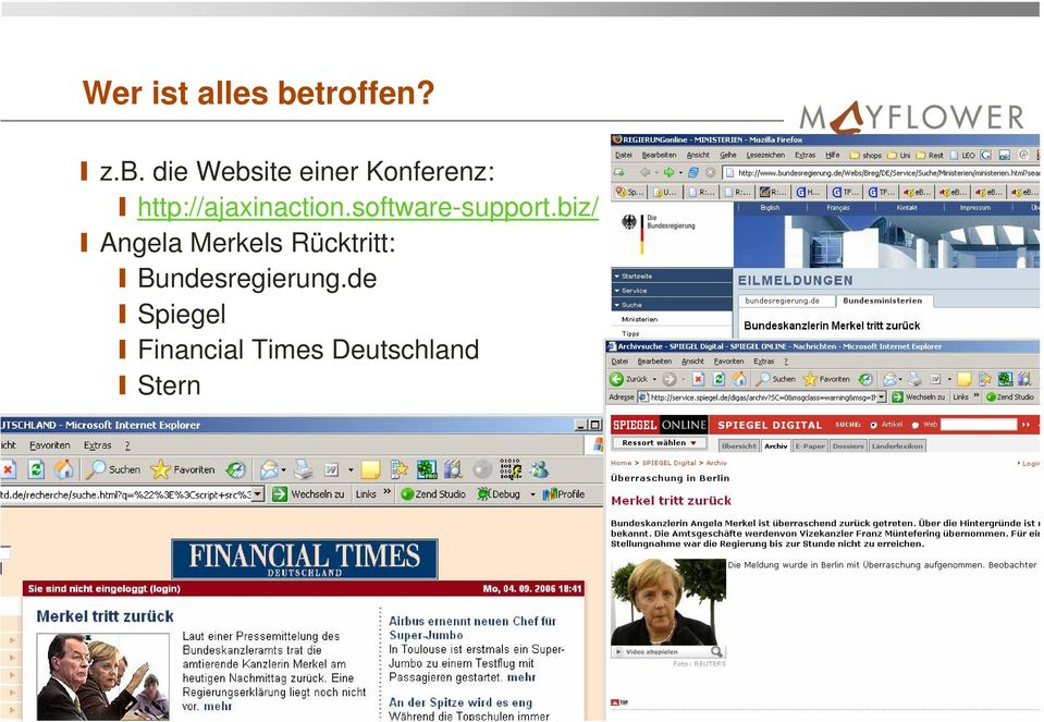 die Website einer Konferenz: http://ajaxinaction.