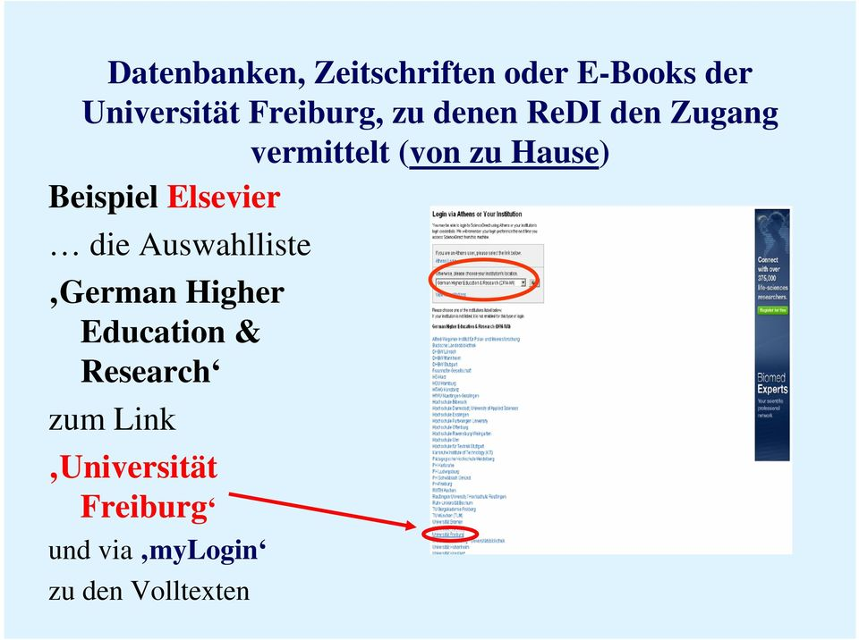 Education & Research zum Link