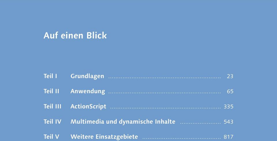 .. 65 Teil III ActionScript.