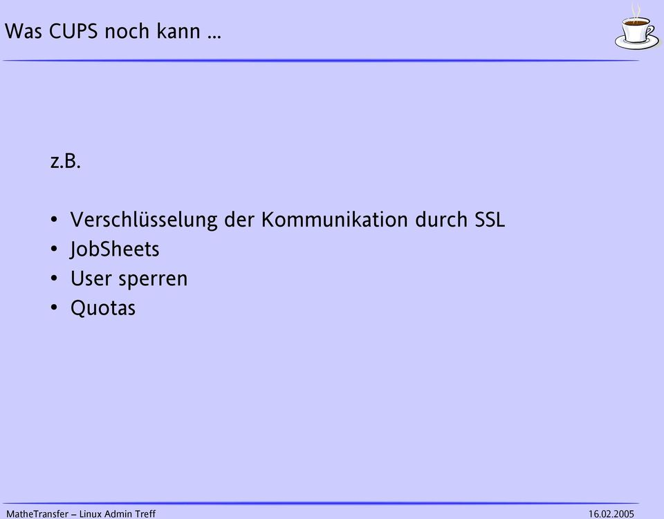 Kommunikation durch SSL