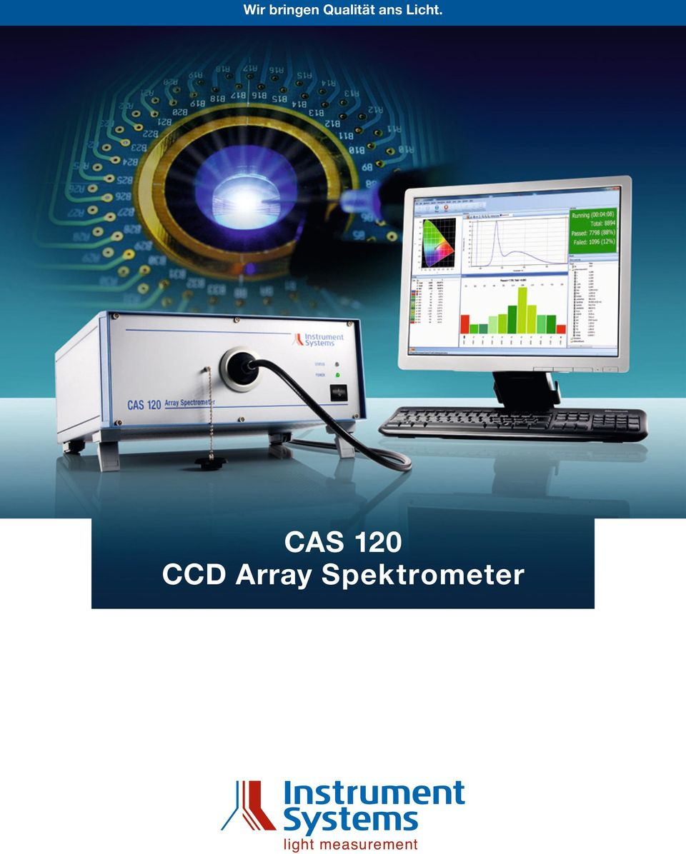 CAS 120 CCD Array