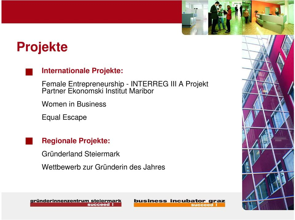 Ekonomski Institut Maribor Women in Business Equal