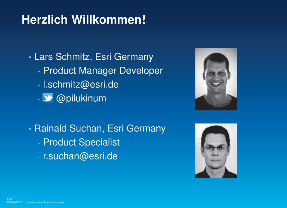 Developer - l.schmitz@esri.