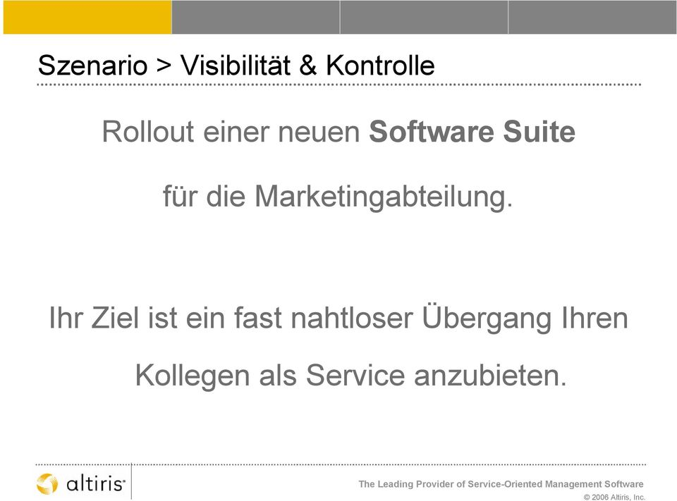Marketingabteilung.