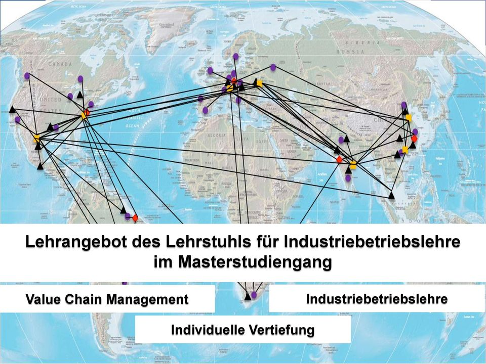 Masterstudiengang Value Chain