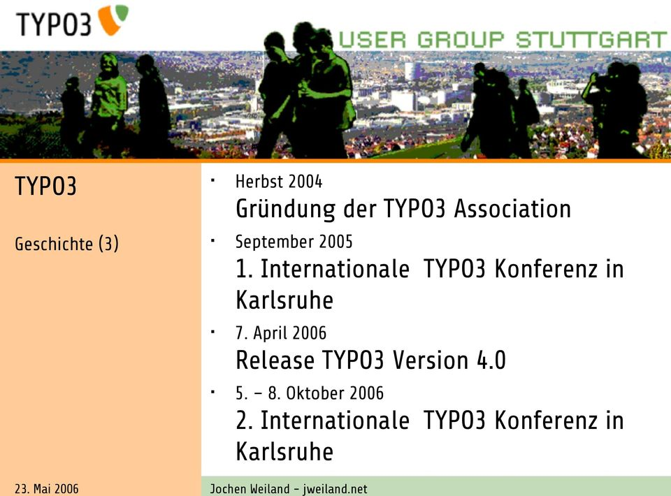 Internationale TYPO3 Konferenz in Karlsruhe 7.