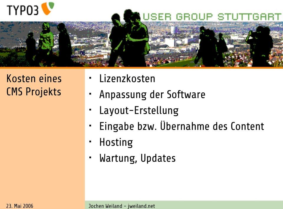 Software Layout-Erstellung Eingabe