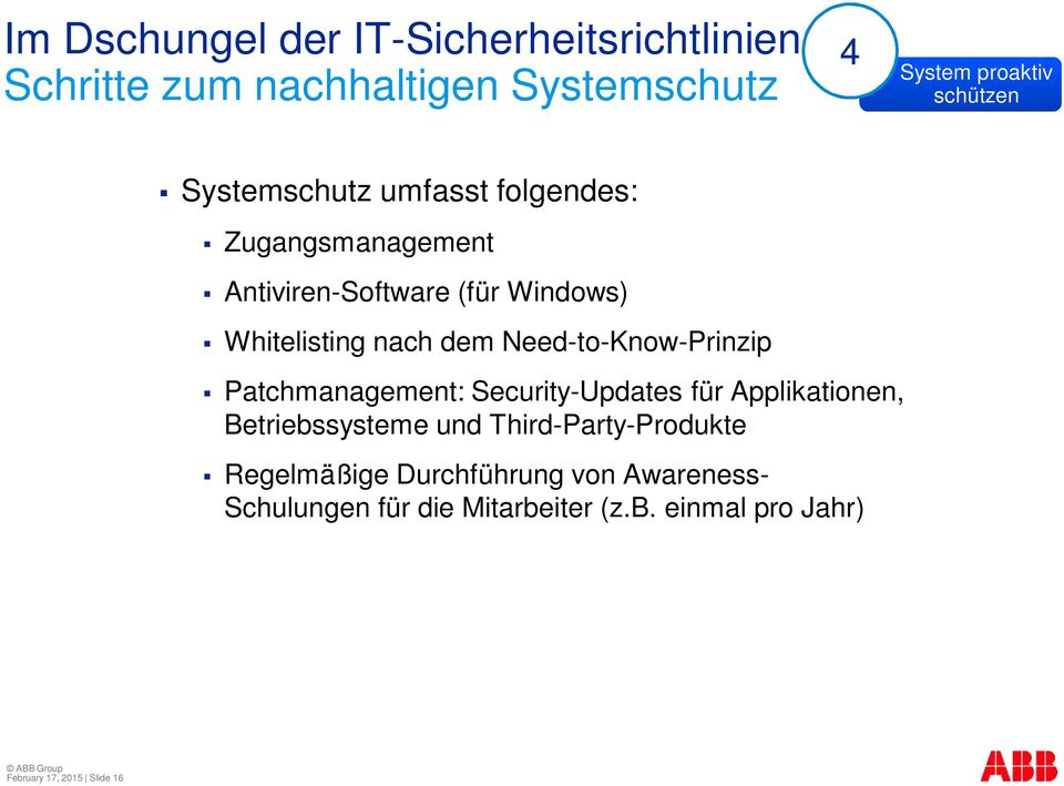 Patchmanagement: Security-Updates für Applikationen, Betriebssysteme und Third-Party-Produkte