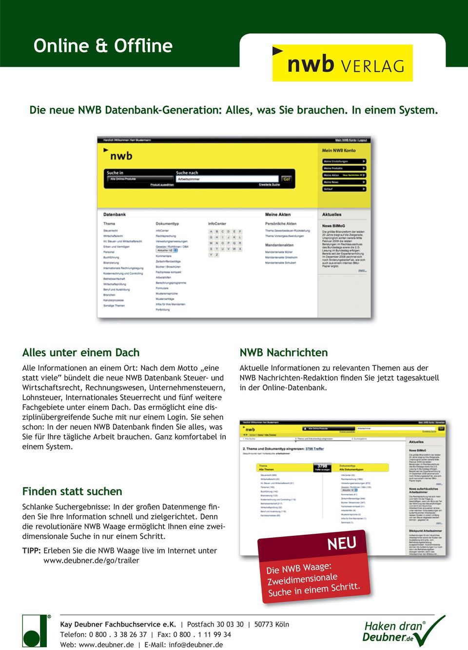 haufe newsletter steuern