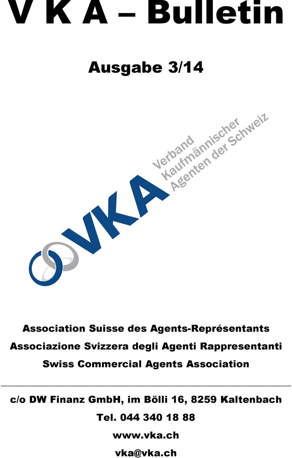 Rappresentanti Swiss Commercial Agents Association c/o DW