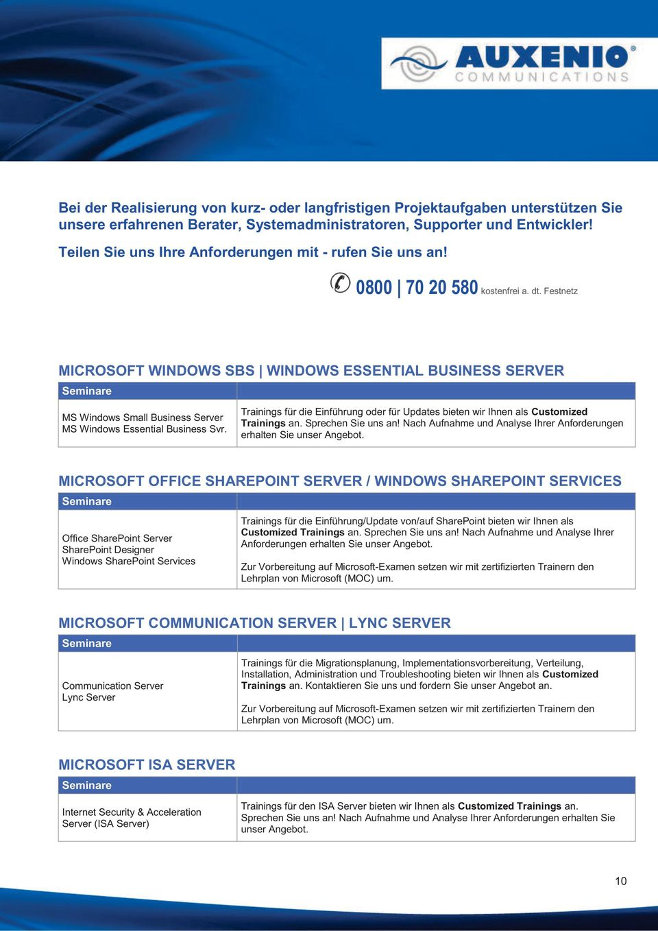 Festnetz MICROSOFT WINDOWS SBS WINDOWS ESSENTIAL BUSINESS SERVER MS Windows Small Business Server MS Windows Essential Business Svr.