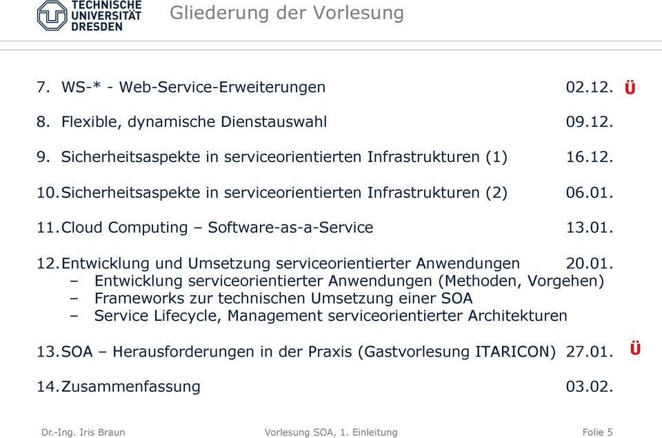 Cloud Computing Software-as-a-Service 13.01.