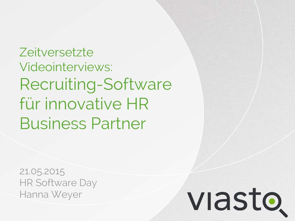 innovative HR Business Partner