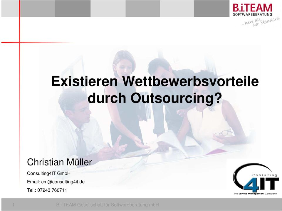 Christian Müller Consulting4IT