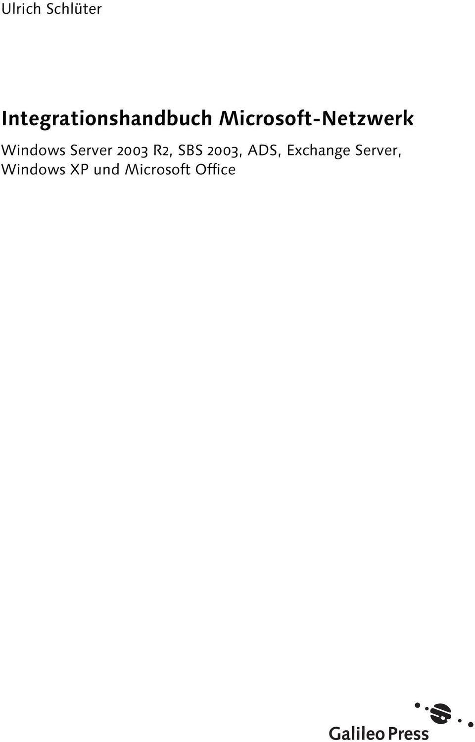 Microsoft-Netzwerk Windows Server