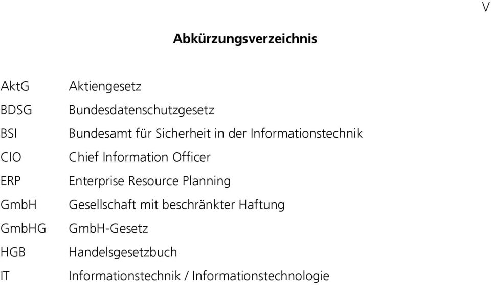 Chief Information Officer Enterprise Resource Planning Gesellschaft mit