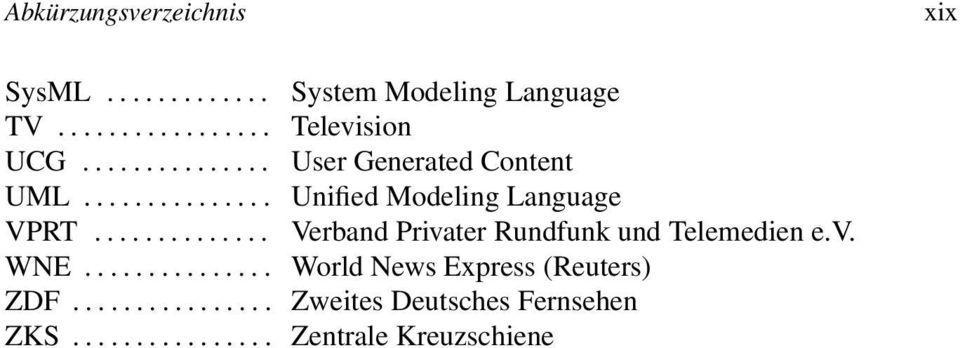 .. System Modeling Language Television User Generated Content Unified