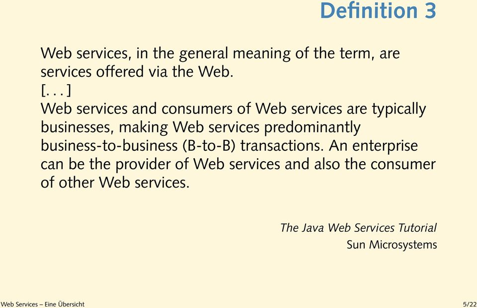 predominantly business-to-business (B-to-B) transactions.
