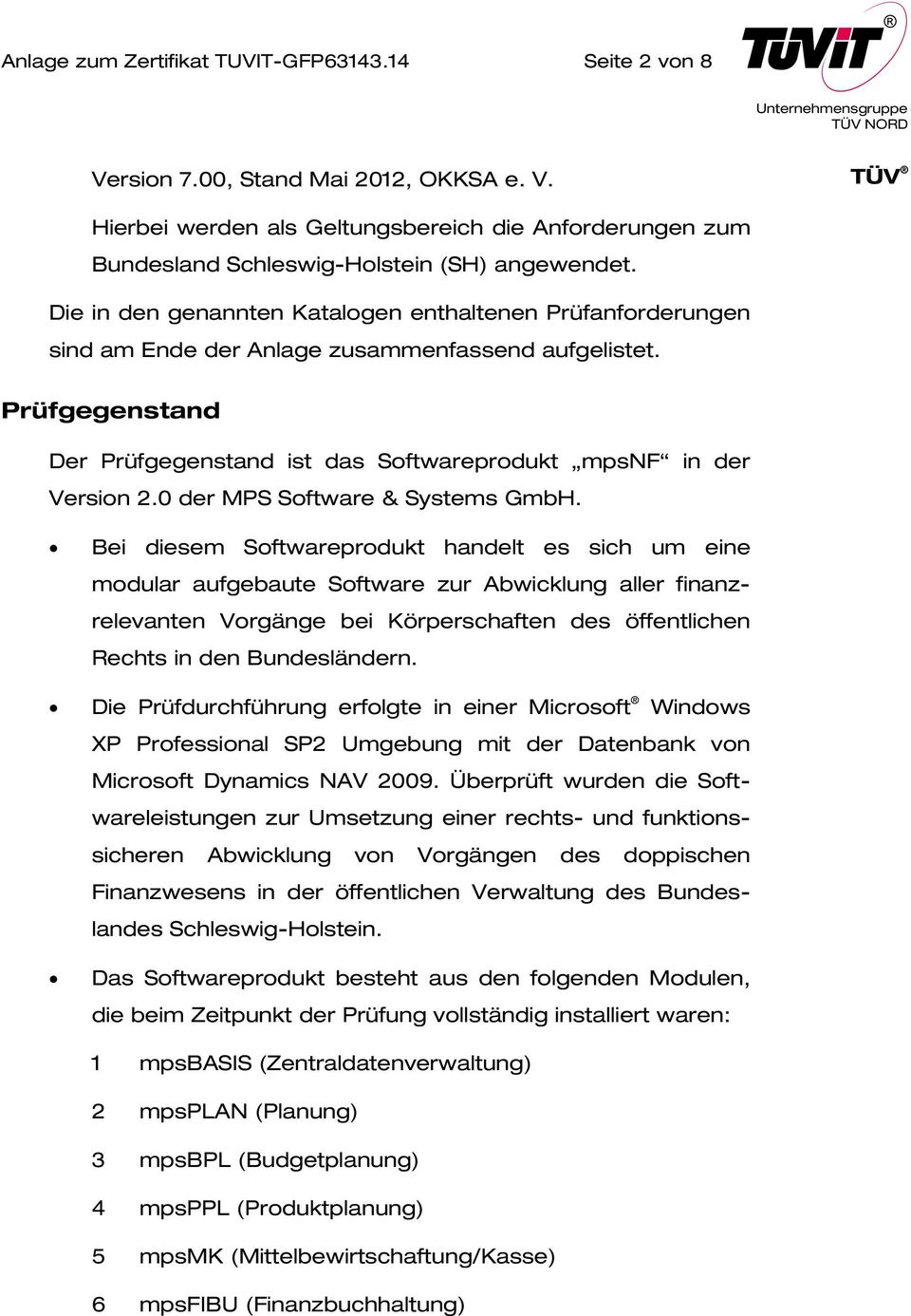0 der MPS Software & Systems GmbH.