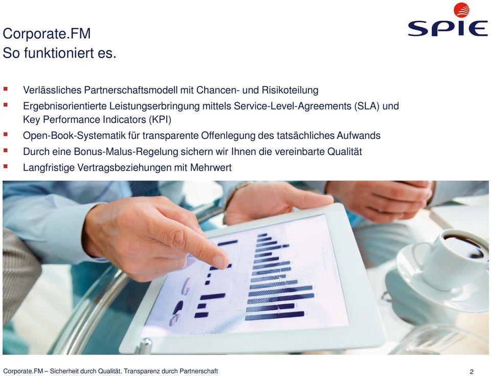 Service-Level-Agreements (SLA) und Key Performance Indicators (KPI) Open-Book-Systematik für transparente Offenlegung