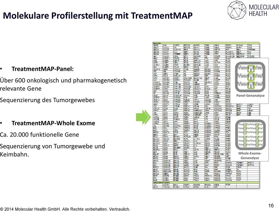 TreatmentMAP-Whole Exome Ca. 20.