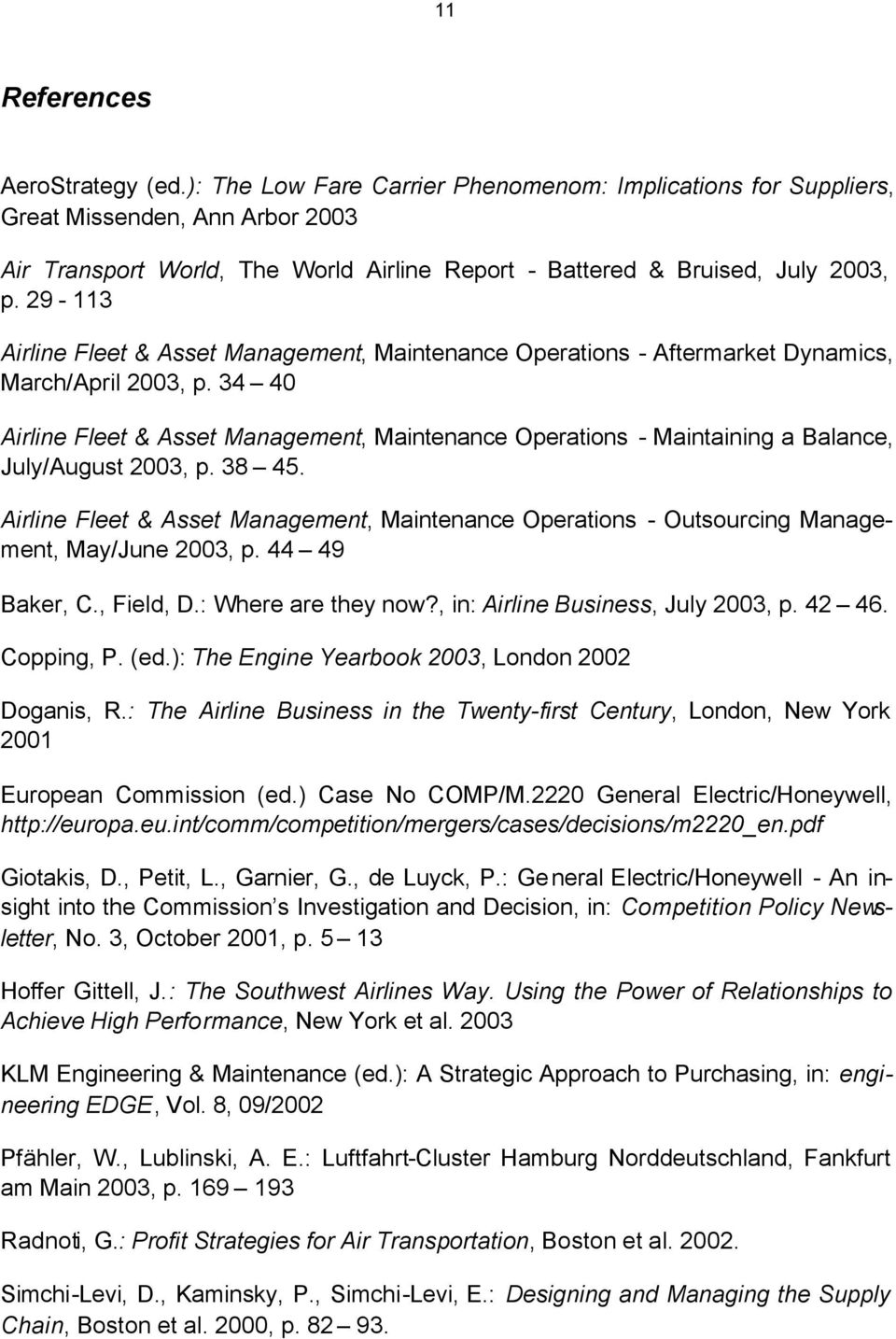 29-113 Airline Fleet & Asset Management, Maintenance Operations - Aftermarket Dynamics, March/April 2003, p.